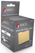 Maco direct thermal labels M86205