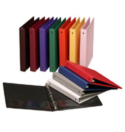 Get View and Regular Vinyl Three Ring Binders Now at Linton